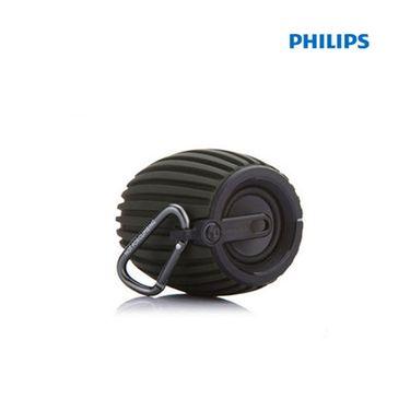 飞利浦 (PHILIPS) SBT30 无线蓝牙音箱 便携迷你户外运动音响 兼容苹果/三星手机 支持免提通话 黑色