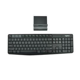 罗技 Logitech K375s无线键盘支架套装