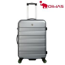 爱华仕 (oiwas)时尚拉杆箱 ABS登机旅行箱  6130A 24寸 太空灰