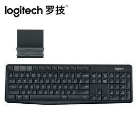 罗技 【现货速发】罗技(Logitech)K375s 无线蓝牙键盘 黑色 台式机/笔记本电脑 键盘 超静音办公 原装正品
