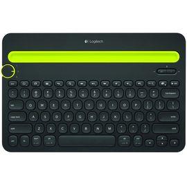 罗技 (Logitech)K480 无线蓝牙键盘 黑色 苹果手机/平板/台式电脑/办公无限 键盘 便携多功能蓝牙键盘