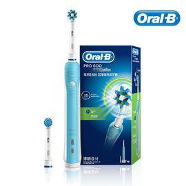 欧乐B(可充电)智能电动牙刷(3D 600)+欧乐B多角度清洁型刷头2支装