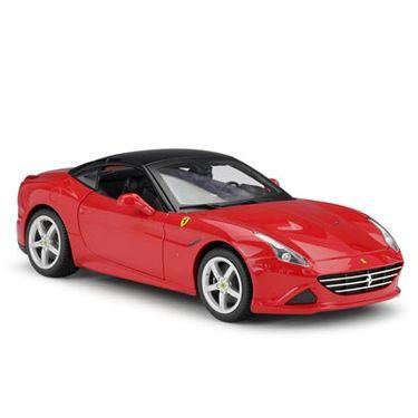 Bburago比美高 法拉利California T敞篷版 1:18仿真汽车模型 16007红色