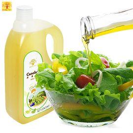 黄金树 芥花籽油1800ml 物理压榨 非转基因食用油