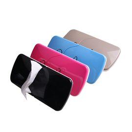 车太郎 车载遮阳板滑盖纸巾盒 不含纸巾  单个装