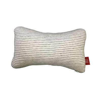 PNT 慕后系列 天然乳胶护颈枕 可拆洗 卡扣绑带设计 车载旅行家居通用 30*18*10cm