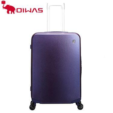 爱华仕 (oiwas)拉杆箱包 海关锁登机行李箱 20寸飞机轮旅行箱 6313 紫色