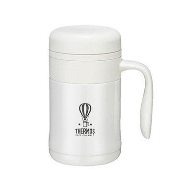 膳魔师 保温保冷杯新款真空不锈钢带手柄 办公室保温杯 TCMG-370