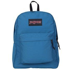 JANSPORT 杰斯伯 SuperBreak叛逆校园纯色双肩背包书包 TWK8 0F3 冷藍