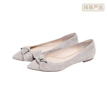 网易严选 日式蝴蝶结通勤女鞋