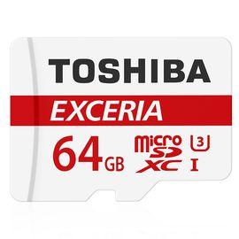 【现货速发】东芝(TOSHIBA)64GB 90M/S TF(micro SD)存储卡  Class10 高速存储卡 TF卡