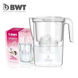 BWT 德国倍世 欧洲原装进口2.6L手动计数滤水壶加镁离子滤芯