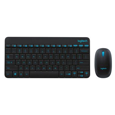 罗技 【现货速发】罗技(Logitech)无线键鼠套装 MK245 Nano (黑色) 无线鼠标/无线键盘/套装 原装正品