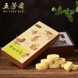 五芳斋 绿豆糕200g伴手礼  休闲零食传统点心 绿豆冰糕 绿豆饼