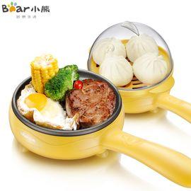 小熊(Bear) JDQ-C3011煎蛋器蒸蛋器 迷你不沾锅电煎蛋锅 煎蛋机多功能煎饼煎煮蛋器