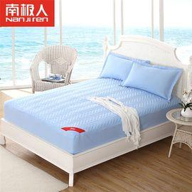 南极人 可水洗夹棉床笠护床垫套 海洋之心 1.8m