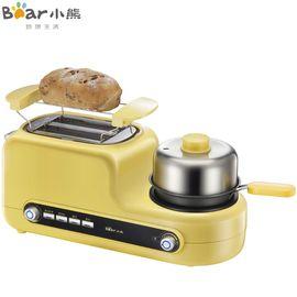 小熊 (Bear)煮蛋器ZDQ-D05Z2烤面包机家用早餐机多士炉全自动吐可煎蛋蒸蛋