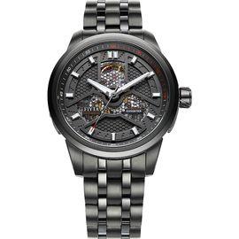 飞亚达(FIYTA) FIYTA飞亚达手表 极限系列 自动机械男表 黑盘钢带 GA8460.BBB