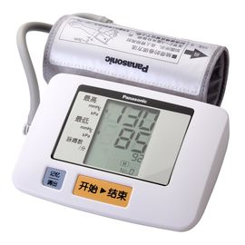 Panasonic 松下  EW3106 家用上臂式电子血压计 清晰大屏 一键式操作  21次数据记忆