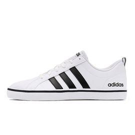阿迪达斯 男鞋 夏季低帮透气轻便小白鞋 运动休闲板鞋AW4594