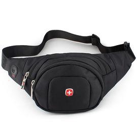 SWISSGEAR 瑞士军刀 时尚腰包 多功能健身运动包 休闲骑行包 男女情侣款 SA-0210