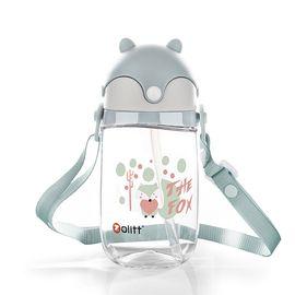 卓理 zolitt 儿童吸管杯宝宝学饮杯婴儿防漏水杯学生喝水水壶训练水杯