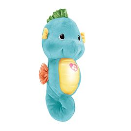 费雪 (Fisher Price)声光安抚海马 DGH82-蓝 婴幼儿玩具胎教早教