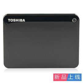 东芝TOSHIBA V9 CANVIO高端分享系列1TB 2.5英寸 USB3.0移动硬盘(经典黑)