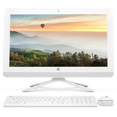 惠普 HP/惠普 小欧 22-b011cn 白 21.5英寸 一体机 电脑J3060 4G 1T 2G独显  现货速发