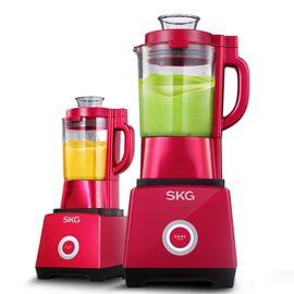 SKG  料理加热破壁机家用多功能搅拌破壁豆浆辅食2089C 红色