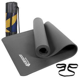 凯速 加厚加宽NBR瑜伽垫185*80cm厚度10mm
