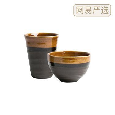 严选 日本制造 美浓烧幽玄系列琉璃棕