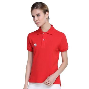 Good Future齐菲却 GOOD FUTURE 劳力士上海网球大师杯纪念红色女款纯棉POLO衫