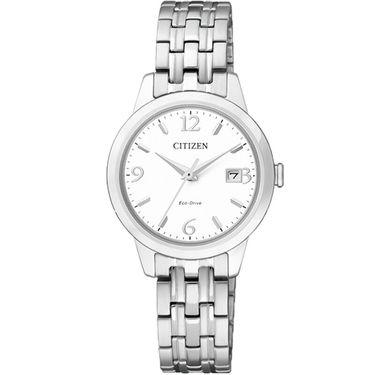 西铁城 (CITIZEN)手表 光动能 时尚女士手表 EW2230-56A
