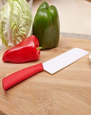 卡佩利丝 6.3寸抗菌彩柄陶瓷刀菜刀 此刀值得你剁手(颜色随机)