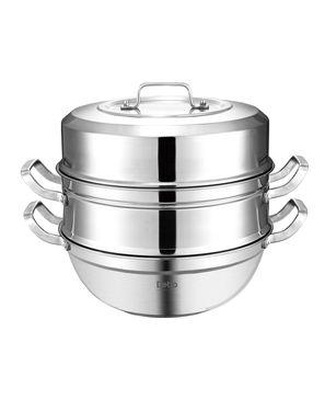 Debo德铂 厨具 奥斯特堡30cm 多功能 双层蒸锅DEP-176