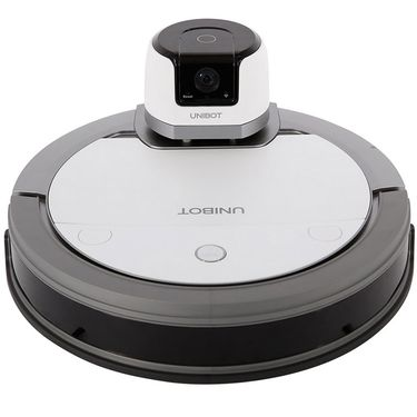 科沃斯(Ecovacs)UNIBOT 管家机器人(地宝+智能摄像头) 巡逻监控 智能管家 规划清洁 APP智能 珍珠白