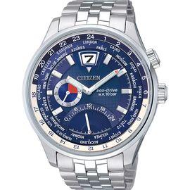 西铁城 (CITIZEN)手表 光动能 时尚钢带男表 BR0015-52L