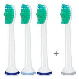 飞利浦 PHILIPS替代刷头HX6011标准4支装 国产替代飞利浦电动牙刷刷头