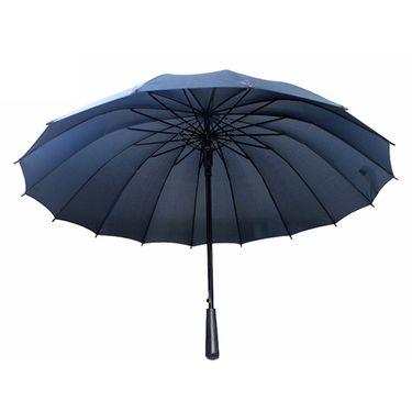 ANCHOW 安巢 时尚16骨加固长柄伞 双人伞 大雨伞  辰山夜雨   多色可选
