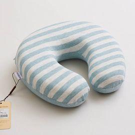 博洋宝贝 彩棉护颈枕  蓝色