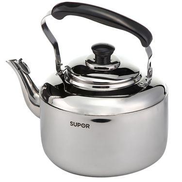 苏泊尔(supor)时尚鸣音不锈钢水壶SS50Q1 不锈钢色