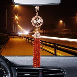莫华洛德 汽车挂件 红玛瑙财源滚滚车内饰品 汽车挂坠装饰品
