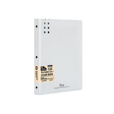 广博 fizz系列60页透明插页袋A4文件资料册 A36375