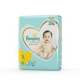 帮宝适 日本进口一级帮宝适纸尿裤大包装小码S76片