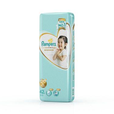 帮宝适 日本进口一级帮宝适纸尿裤大包装加大码XL42片