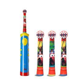 欧乐B D10儿童充电型电动牙刷 汽车总动员款+EB10-3K儿童电动牙刷头 汽车总动员