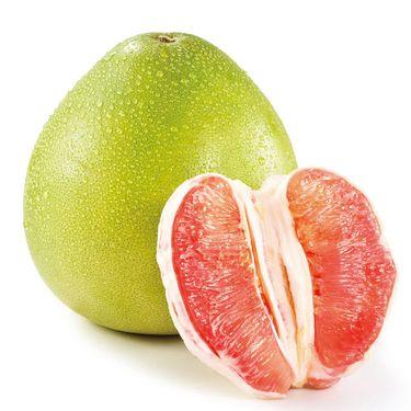 品赞 福建平和琯溪红蜜柚2个 约4-5斤
