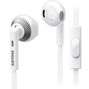 飞利浦 (PHILIPS)耳机 耳麦 入耳式手机通话 SHE3205(白)