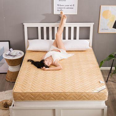 卡佩利丝  加厚记忆棉床垫床褥榻榻米床垫驼色( 多规格可选)